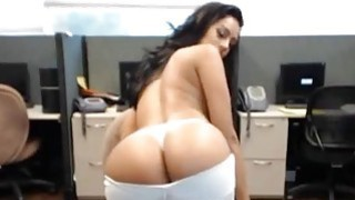 Stunning Indian Webcam Girl With Big Tits At THe Office image