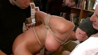 Explicit pussy castigation for an sex slave image