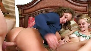 Eva Notty threeway action with Allie Rae image