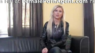 Sexy Blonde Needs A Job In Adult Industry image