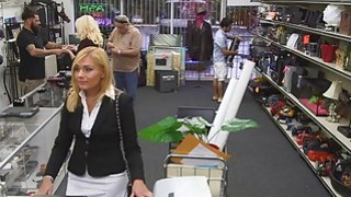 Hot MILF Gets Fucked In The Pawnshop image