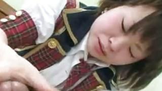 Image: Mayu Nakane  Japan SchoolGirl Hairy Pussy Plugged