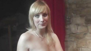 Fun with_sexy MILF in backstage image