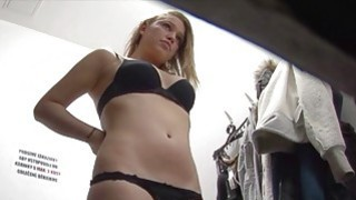 Young Girl is Changing her Underwear image