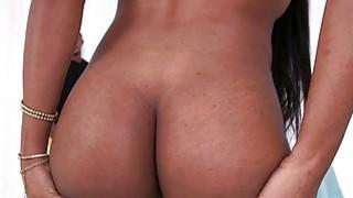 Image: Bubble ass black babe Indigo Vanity gets fucked