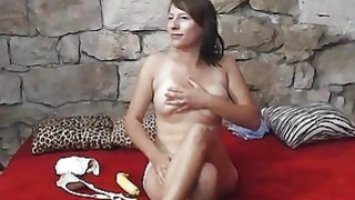 Teen does erotic solo show at_her first_CASTING ever image