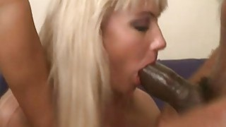 Image: Luscious whore double penetrated by massive black cocks