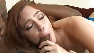 Kinky biatch Jodi Taylor interracial gangbang on sofa image