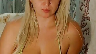 Image: Webcam Girl With Massive Natural Tits