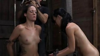 Tormented serf is giving master a lusty oral image