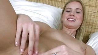 Camera deeply in her gaped pussy hole image