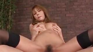 Insolent porn video with big tits milf Haruka Sanada image