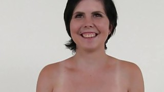 Busty amateur fucks in photo shooting image