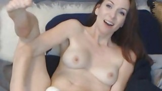 Sexy Webcam Chick Toys her Pink Pussy on Cam image