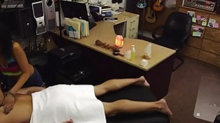 The Asian Maseuse And Her Massage Table image