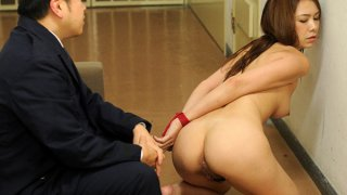 Sweet young gal gets rammed by_a prison guard image