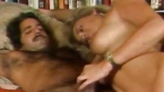 Image: Penny Morgan and Ron Jeremy  Blonde Bimbo Porno