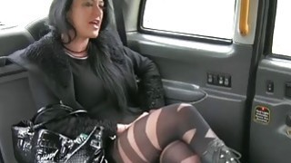 Local escort in pantyhose gets rammed_by pervert driver image