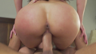 Image: Round butt MILF Kendra Lust riding her stepson's big wang