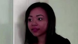 Image: Black lesbian Laila Blues fucks her girlfriend - 18flirt*com