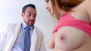 Dr. Castle calls in Jewels Jade to show Mackenzie Lohan Jewels's big enhanced tits image