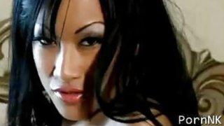 C.J. Miles, a Sexy asian porn_star strip_tease image