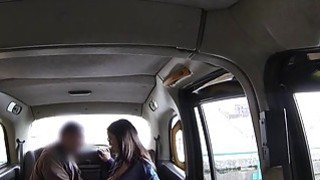 Perfect booty Brit bangs in fake taxi image