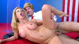 Blonde mom Cherie DeVille enjoys the most enjoyably thorough dicking image