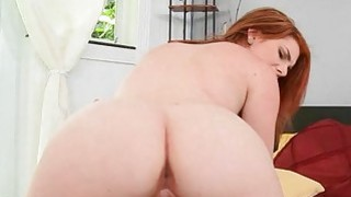 Curvy doxy starts moaning as she reaches orgasms image