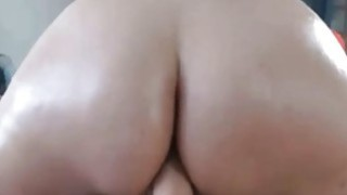 Big Round Ass SexToy Riding image