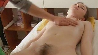 Image: Naturallybushed babe has hot sex after a massage