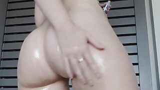 Bouncing Bigass And oiled Up image