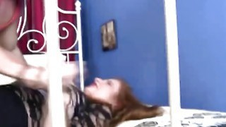 Image: Cute babe Allison Grady in rough sex scene