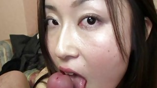 Subtitles Japanese amateur POV blowjob in HD image