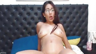 Image: Gorgeous Nerd Swallow her BF Cock Before Getting F