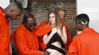 Image: Stella Cox gets DPd by big black cocks
