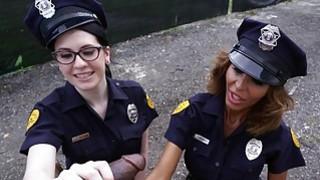Image: Lyla Lali and Norah Gold Take BBC on Patrol Car