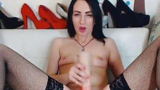 Hot Sexy Cam Babe Having a Nice Masturbation Show image