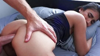 Sexy amateur GF anal pounded while being filmed image