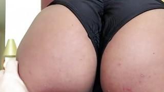 Big assed Lexy Bandera deepthroats cock like an expert image