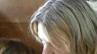 Image: Sexy granny and mature lesbian masturbation