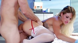 Image: Huge titted nurse squirts and slammed