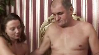 Stud Licks Hot Teen Pussy Blowjob Fucking Her image