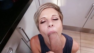 Mickey Reise fucked in kitchen image