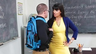 InnocentHigh Hot MILF Teacher Fucks Student image