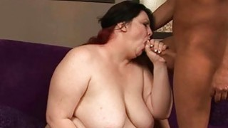Bbw floozy fucked in all of her holes by schlong image