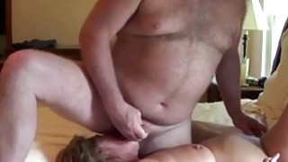 Image: Cougar Amateur Blonde Facefucked