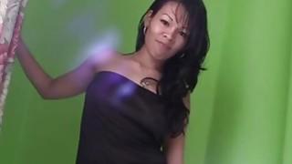 Latina hot babe fingering and blowjob doggy_style fucking image