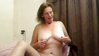 Hot busty mature fingers pussy image