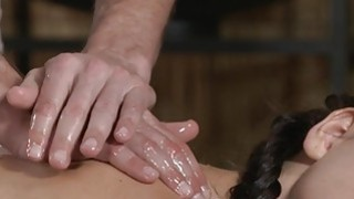 Thick ass hottie gets massage_and sex image